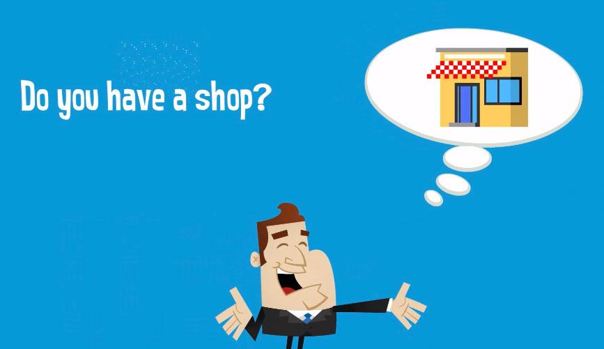Cartoon Retailers