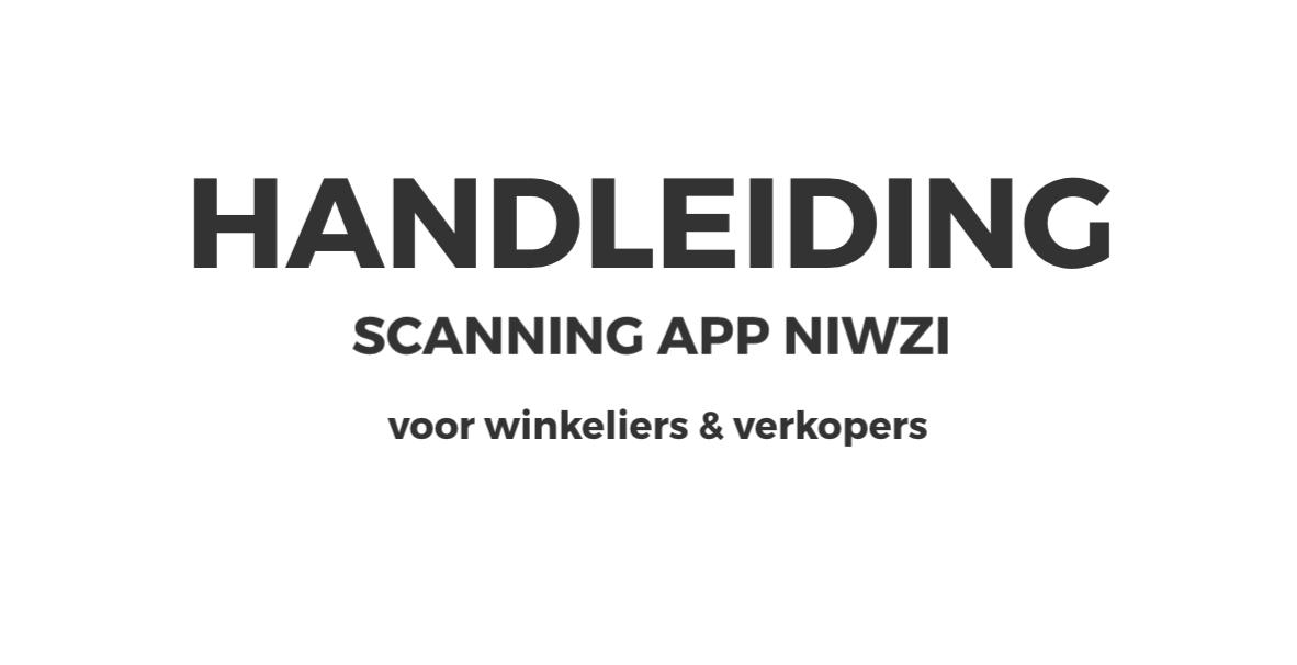 Handleiding Niwzi Scanning App